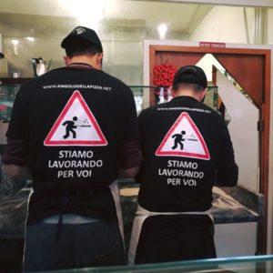 Staff Stiamo lavorando per voi - L'Angolo della Pizza, Pizzeria a Cecina