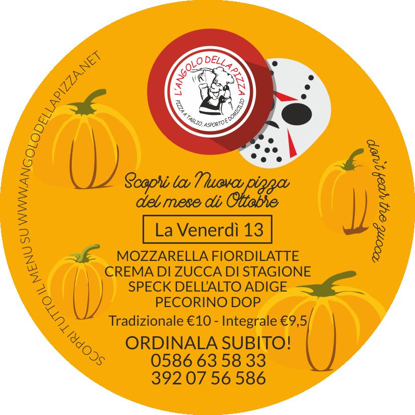 Pizza del mese di Ottobre, con crema di Zucca! - L'Angolo della Pizza